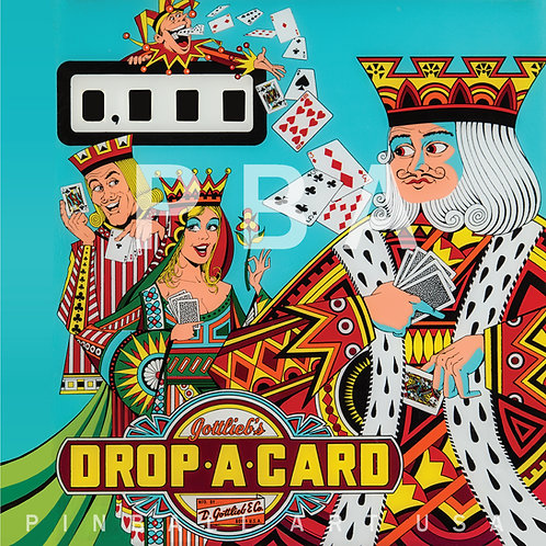 Drop-A-Card 1971 Gottlieb