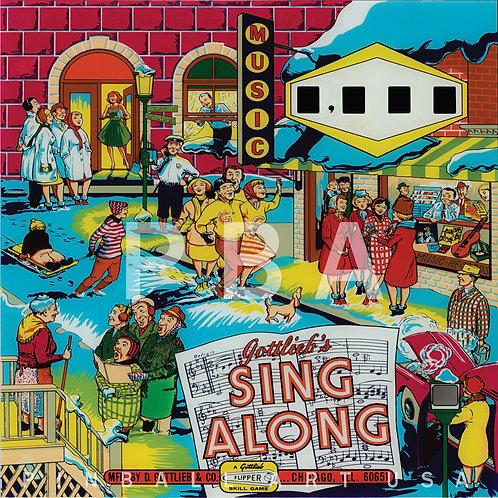 Sing Along 1967 Gottlieb