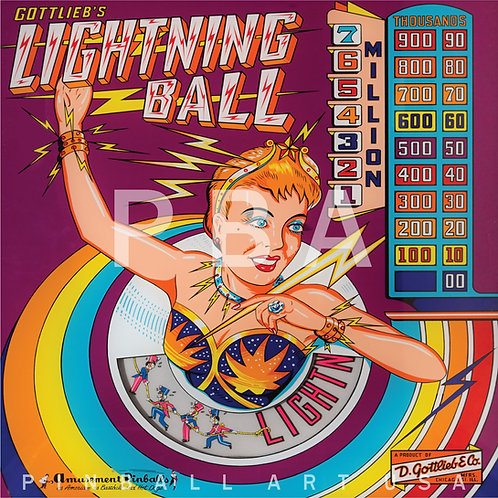 Lightning Ball    1959 Gottlieb