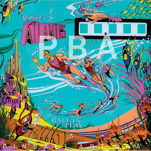 Atlantis 1975 Gottlieb