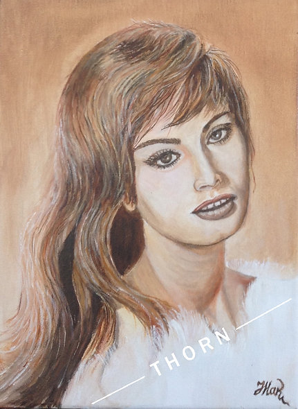 Sofia Loren by Inna Makarichev