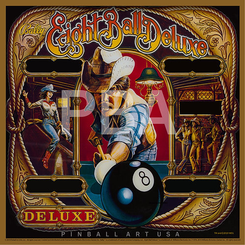 Eight Ball Deluxe Jigsaw Puzzle