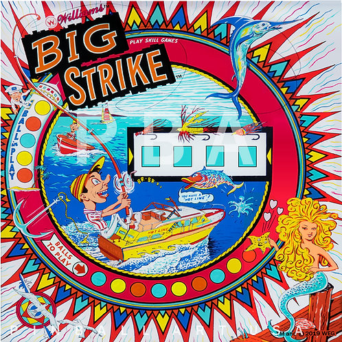 Big Strike 1966 Williams