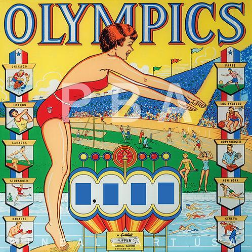 Olympics    1962 Gottlieb