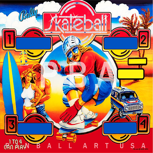 Skateball 1980 Bally