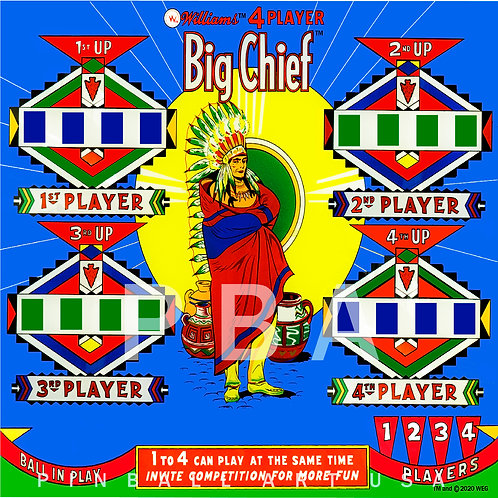 Big Chief 1965 Williams