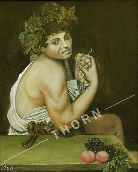 Replica of Caravagio by Inna Makarichev