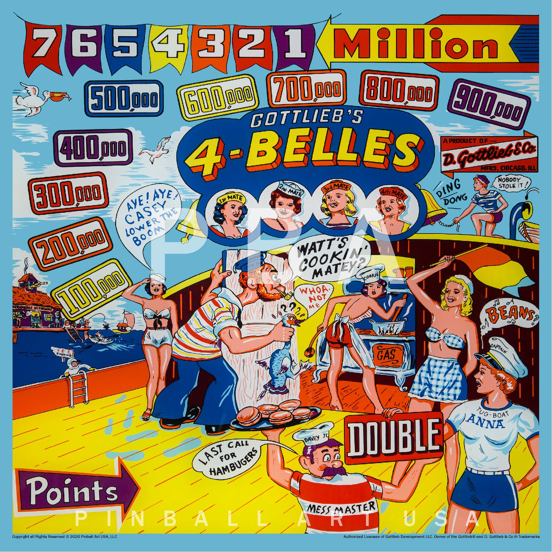 4 Belles Jigsaw Puzzle