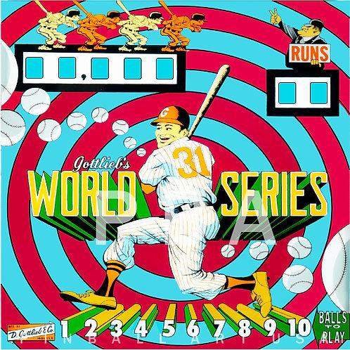 World Series 1962 Gottlieb