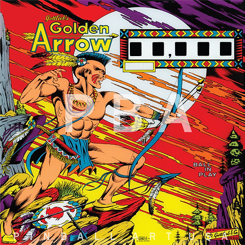 Golden Arrow    1977 Gottlieb