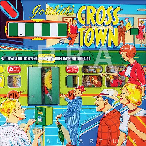 Cross Town 1966 Gottlieb