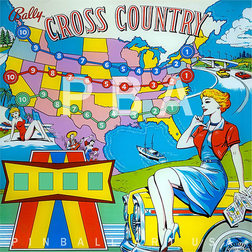 Cross Country 1963 Bally