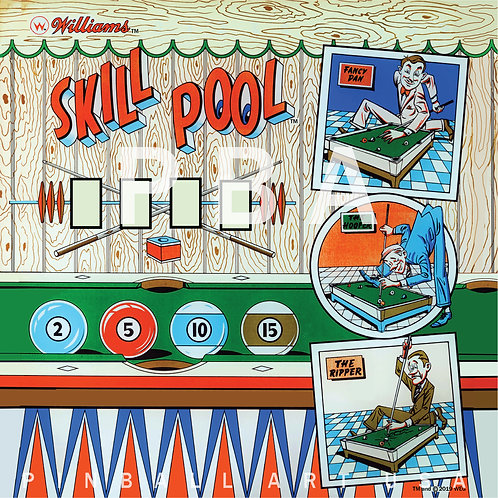 Skill Pool 1963 Williams
