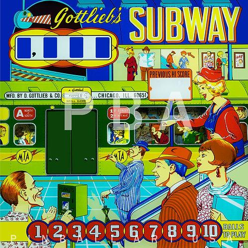 Subway 1966 Gottlieb