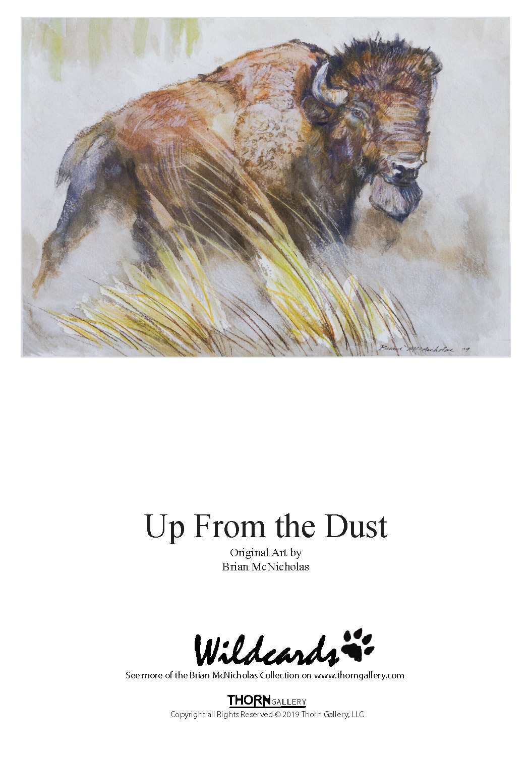 Up From the Dust Greeting Card