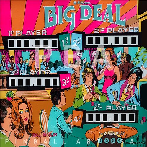 Big Deal 1977 Williams