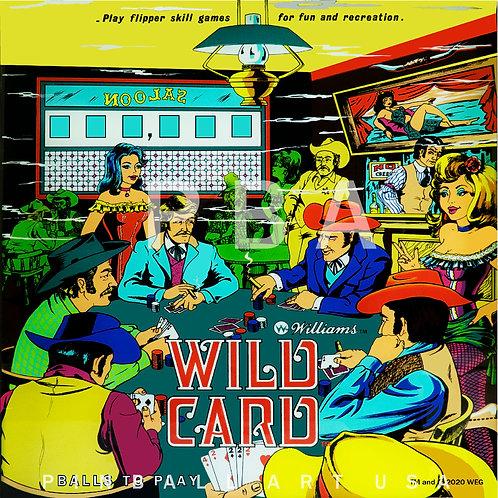 Wild Card 1977 Williams