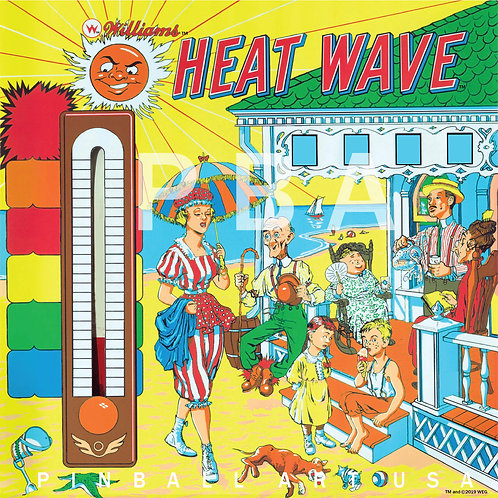 Heat Wave 1964 Williams