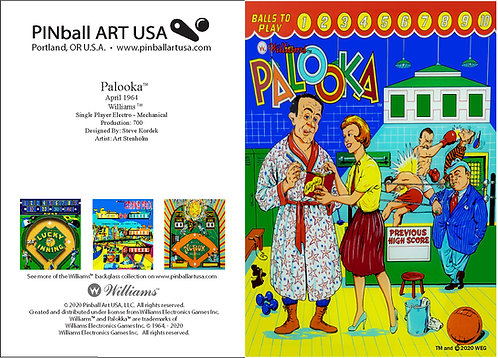 Palooka Greeting Card