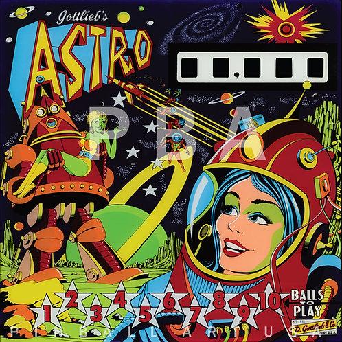 Astro    1971 Gottlieb