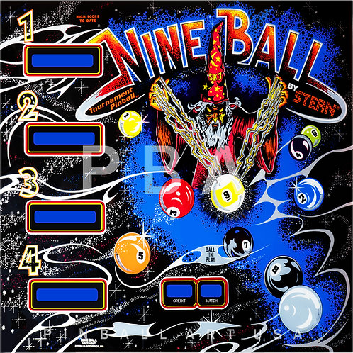 Nine Ball 1980 Stern