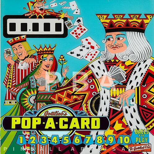 Pop A Card 1972 Gottlieb