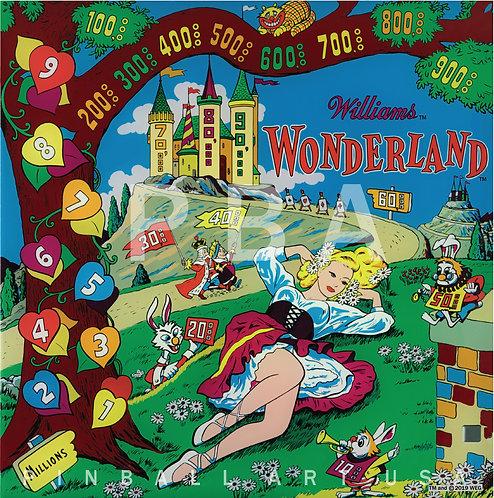Wonderland 1955 Williams