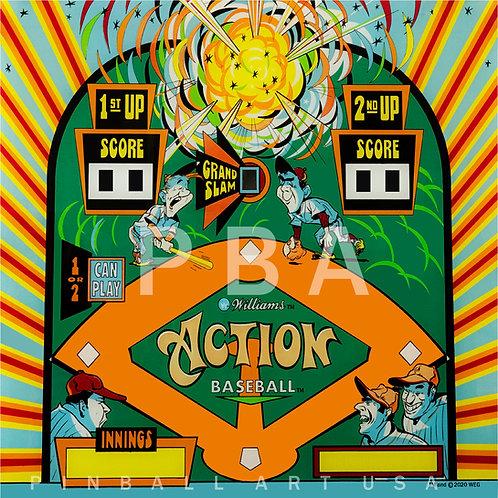 Action Baseball 1971 Williams
