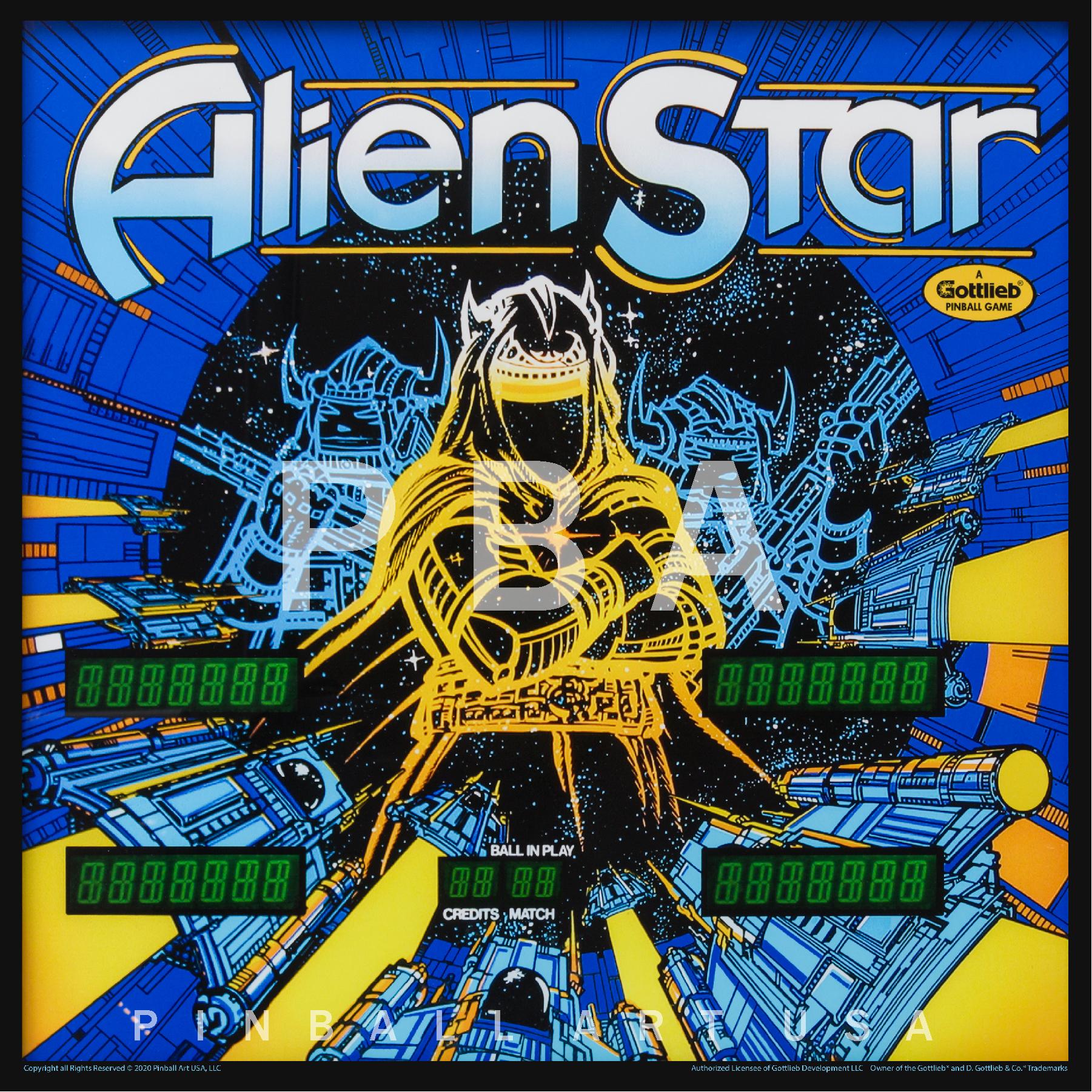 Alien Star Jigsaw Puzzle