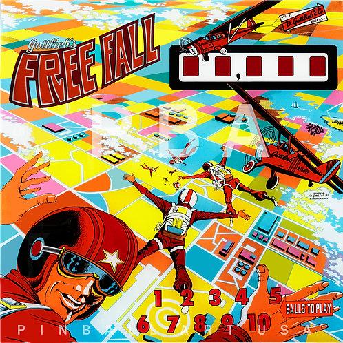 Free Fall 1974 Gottlieb