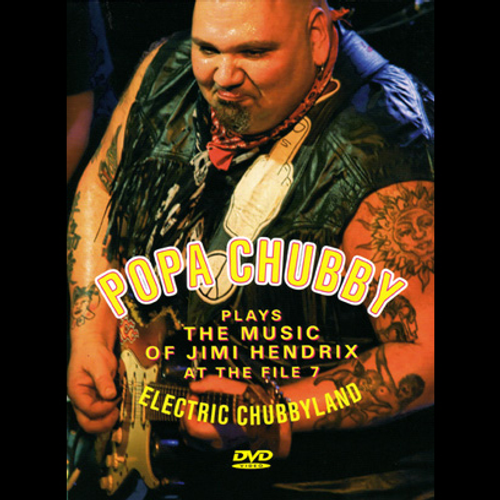 popa chubby blues rock music videos merchandise store