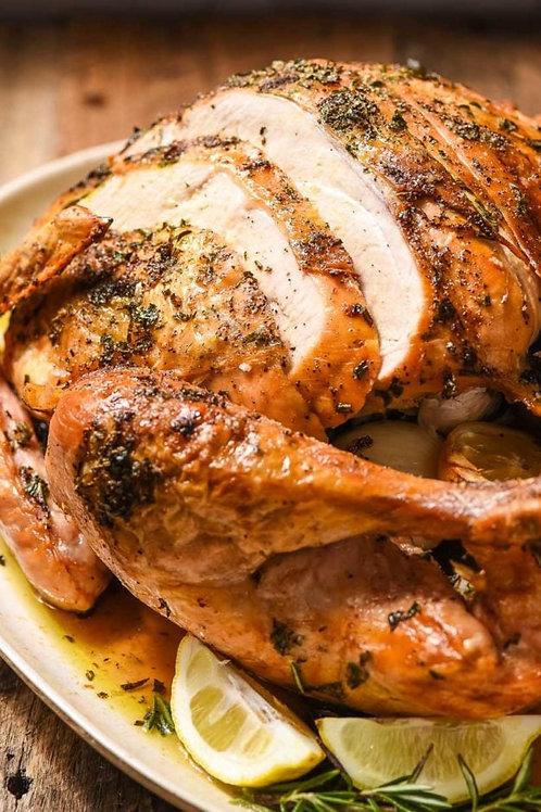 Spiced + Glazed Roasted Turkey