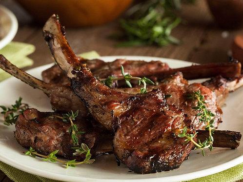 Lemon + Rosemary Lamb Chops