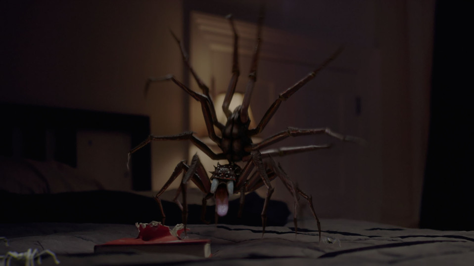3D Spiders Trailer