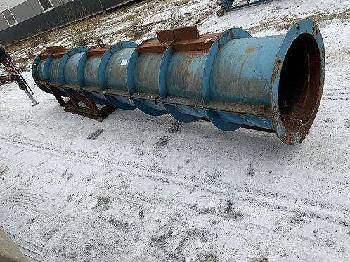 Ocelová forma na betonové sloupy/80 cm