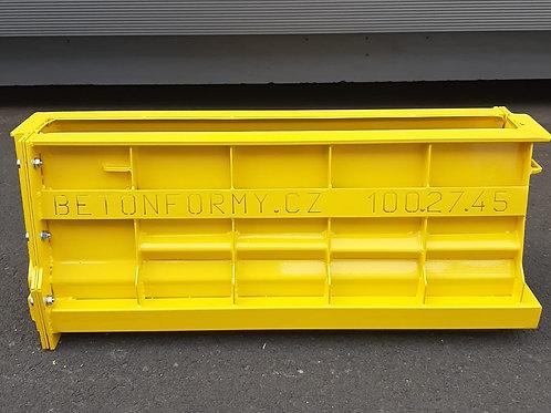 Forma na svodidlo 100x27x45cm