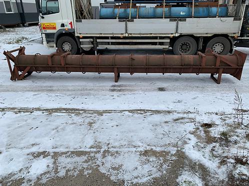 Ocelová forma na betonové sloupy/30 cm