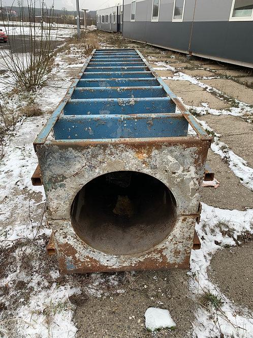 Ocelová forma na betonové sloupy/60 cm
