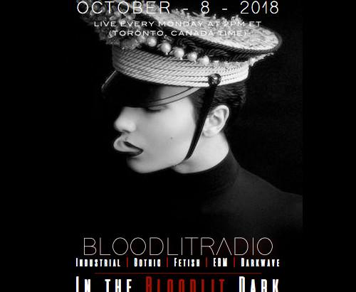 IN THE BLOODLIT DARK! OCTOBER-8-2018
