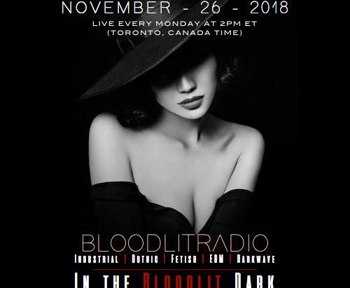 IN THE BLOODLIT DARK! NOVEMBER-26-2018