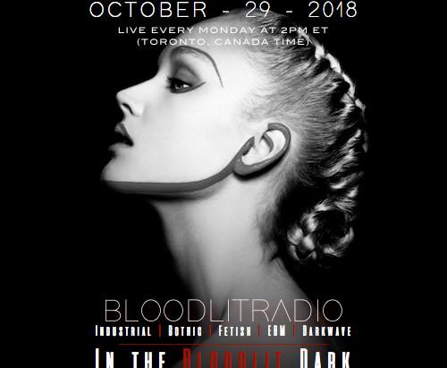 IN THE BLOODLIT DARK! OCTOBER-29-2018