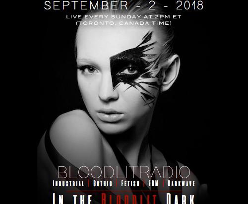 IN THE BLOODLIT DARK! SEPTEMBER-2-2018