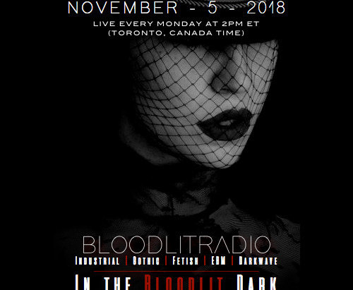 IN THE BLOODLIT DARK! NOVEMBER-5-2018