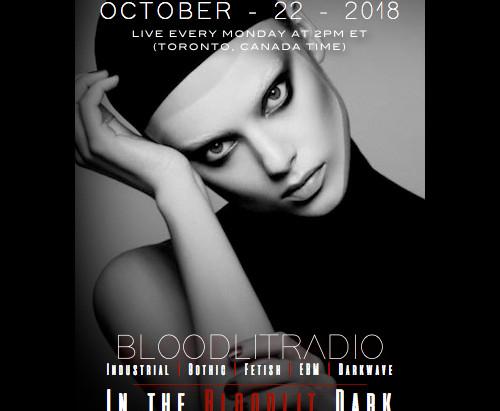 IN THE BLOODLIT DARK! OCTOBER-22-2018