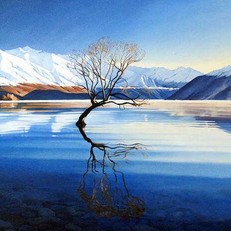 Morning Mist, Lake Wanaka