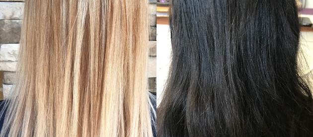 The Journey from Dark to Blonde