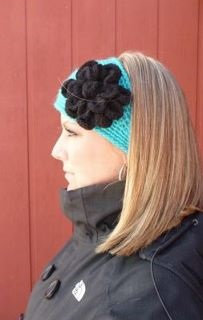 Crocheted Headwrap The Hadley