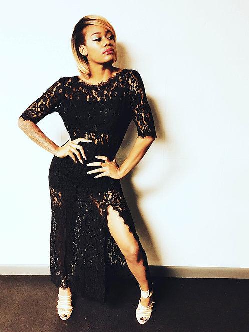 Jeremy Vandiver Audrey Dress - Black