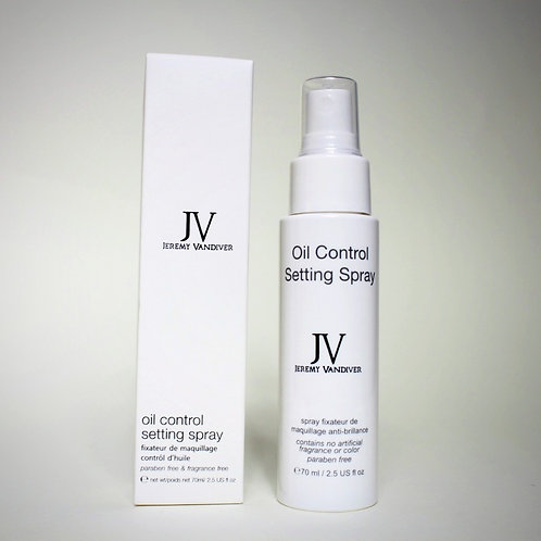 Jeremy Vandiver® Oil Control Setting Spray