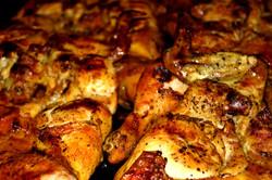 pollos asandose